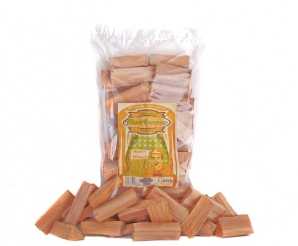 Alder Wood Chunks - Erle Räucherholz