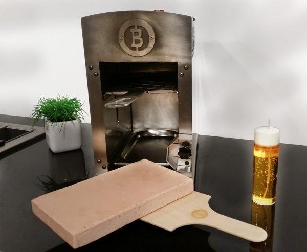 Beefer Pizzastein und Schieber