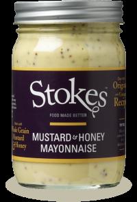 Stokes Honey Mustard Mayonnaise 360ml