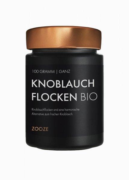 Knoblauch Flocken Bio, 100g Schraubglas