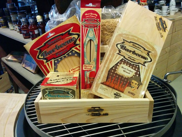 Starterbox BBQ Wood - Einsteigerset Räucherholz