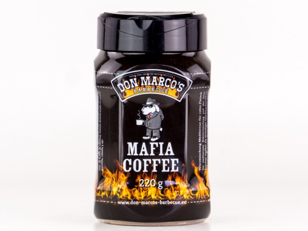 Mafia Coffee Rub 220g Streuer